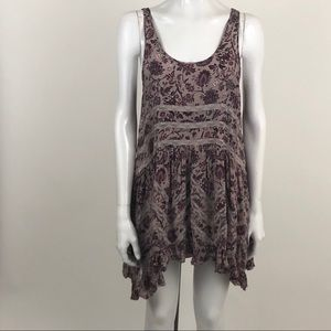 Free People Intimately S Paisley Flowy Tank Dress